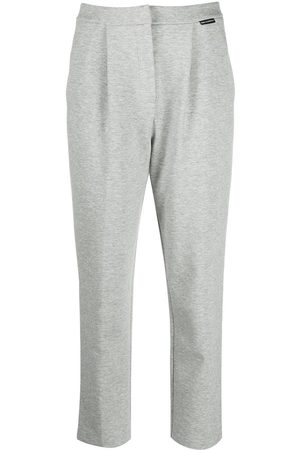 Karl Lagerfeld Tailored jersey trousers - Grey