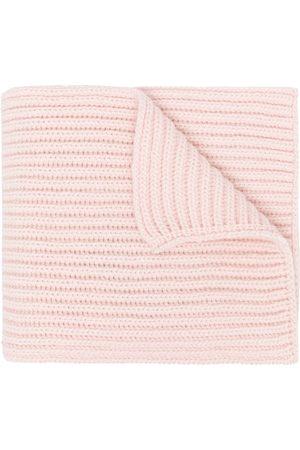 PRINGLE OF SCOTLAND Chunky-knit cashmere scarf