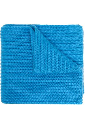 PRINGLE OF SCOTLAND Scottish cashmere ribbed scarf