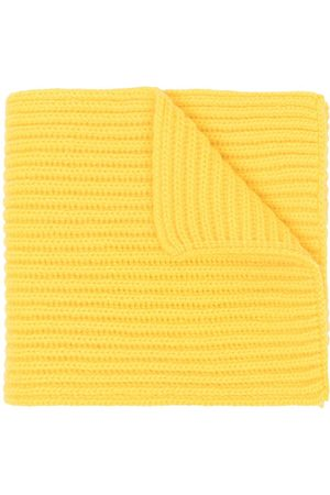 PRINGLE OF SCOTLAND Chunky-knit cashmere scarf