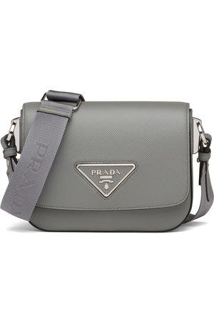 Prada Identity crossbody bag - Grey