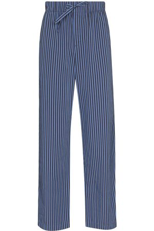 Tekla Verneuil stripe-pattern pyjama trousers
