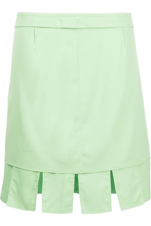 Bottega Veneta Pleated mini skirt