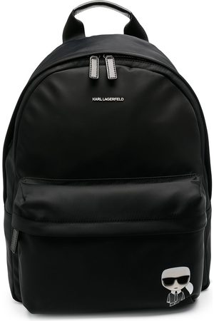 Karl Lagerfeld K/Ikonik nylon backpack
