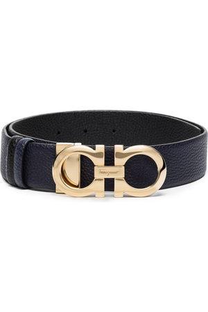Salvatore Ferragamo Leather Gancini buckle belt