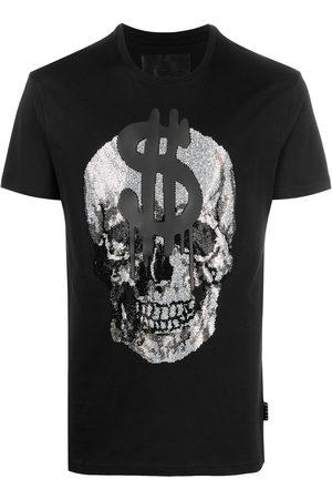 Philipp Plein Crystal skull cotton T-shirt