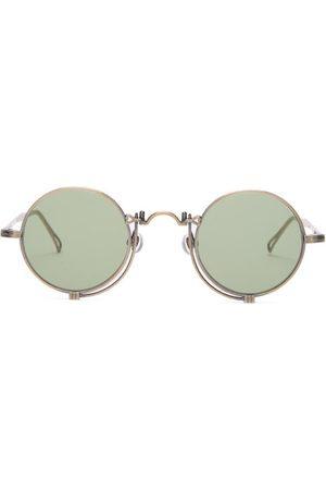MATSUDA Round Titanium Sunglasses - Mens