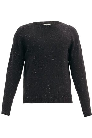 The Row Men Sweaters - Florian Saddle-sleeve Mélange-wool Sweater - Mens