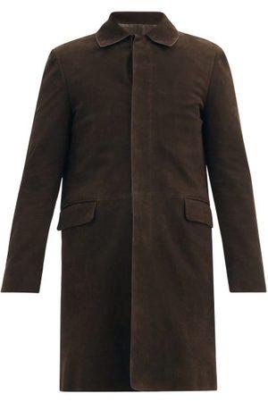 The Row Albin Suede Coat - Mens