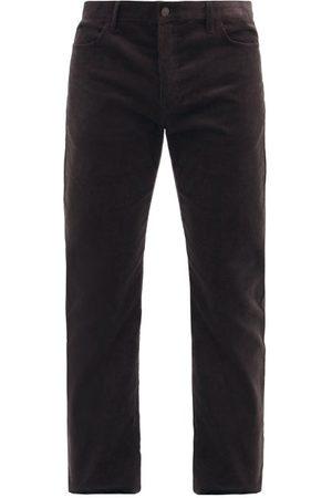 The Row Irwin Slim-leg Corduroy Trousers - Mens - Dark