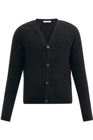 The Row Francois Ribbed Merino-wool Blend Cardigan - Mens