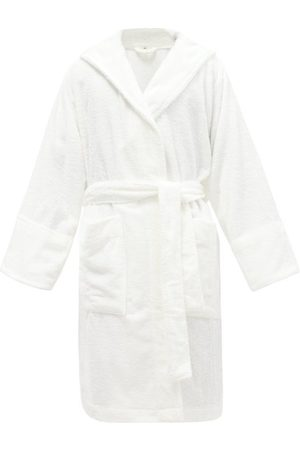 Tekla Hooded Organic-cotton Terry Bathrobe - Mens