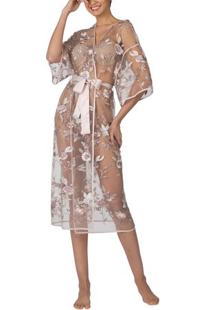 Rya Collection Women's Stunning Sheer Organza Robe