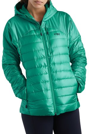 Outdoor Research Women's Helium 800 Fill Power Down Hooded Jacket