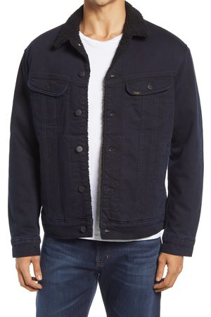 Lee 101 USA Men's Fleece Lined Denim Jacket