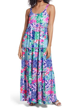 Lilly Pulitzer Women's Lilly Pulitzer Loro Tiered Maxi Dress