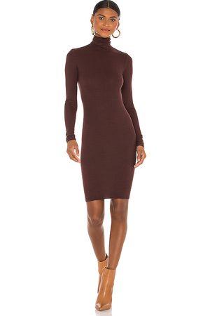 ENZA COSTA X REVOLVE Turtleneck Mini Dress in .