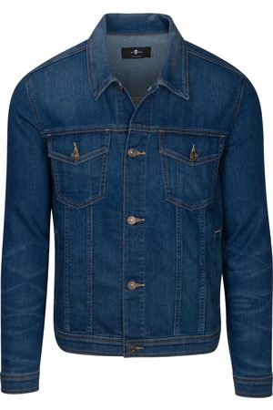 7 for all Mankind Men's 7 For All Mankind Stretch Denim Trucker Jacket