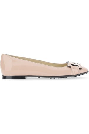 Tod's Women's Leather Ballet Flats - - Size 38 (8)