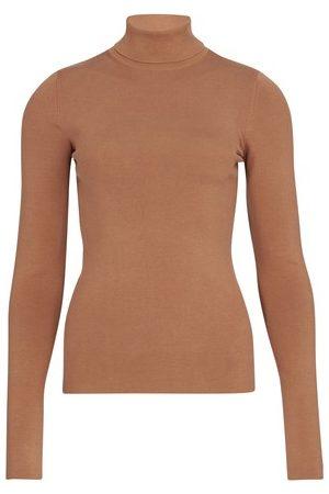 Joseph Women High Necks - Stretch silk top
