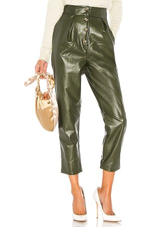MAJORELLE Clive Pant in Green.