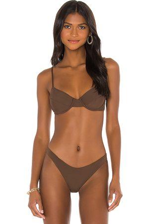 Riot Swim Jax Bikini Top in .