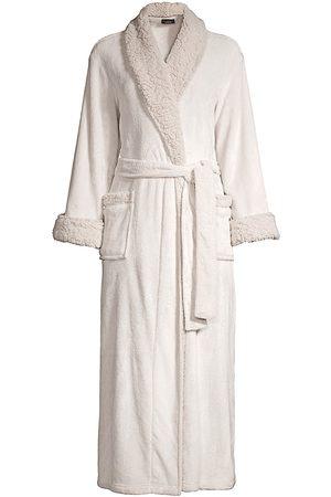 Natori Women's Faux-Shearling Sherpa Robe - - Size Large