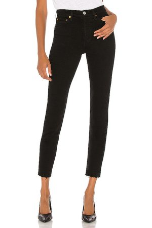 RE/DONE Originals High Rise Ankle Crop in .