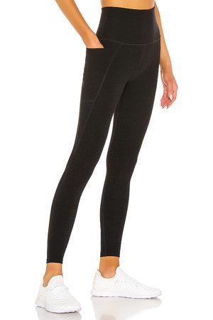 Beyond Yoga Women Leggings - Out Of Pocket Legging in Black.