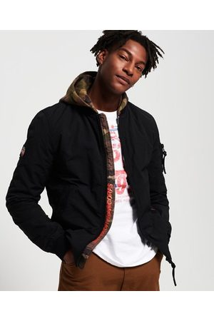 Superdry Men Bomber Jackets - Hooded Air Corps Bomber Jacket