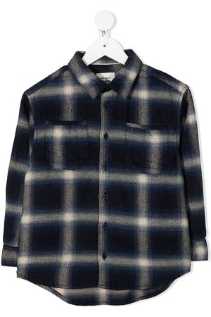 The New Society Check cotton shirt