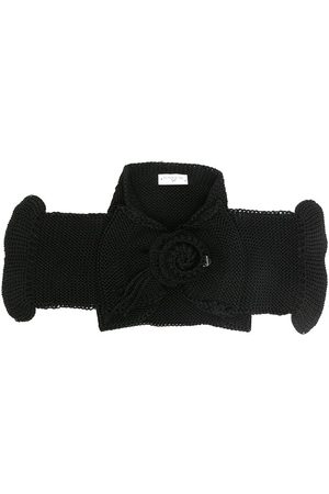 MONNALISA Crochet wool scarf