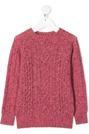 The New Society Noel cable knit jumper