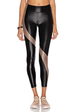 Koral High Rise Legging in ,Metallic