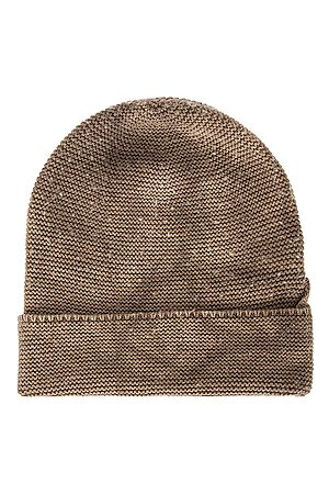 Cotton Citizen Andes Beanie in Abstract,Gra