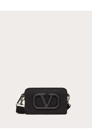 VALENTINO GARAVANI Men Bags - Vlogo Signature Urban Nylon Crossbody Bag Man 100% Poliammide OneSize
