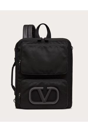 VALENTINO GARAVANI Men Rucksacks - Vlogo Signature Urban Nylon Backpack Man 100% Poliammide OneSize