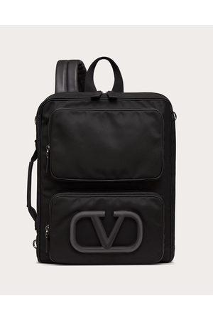 VALENTINO GARAVANI Men Rucksacks - Vlogo Signature Urban Nylon Backpack Man 100% Poliammide OneSize