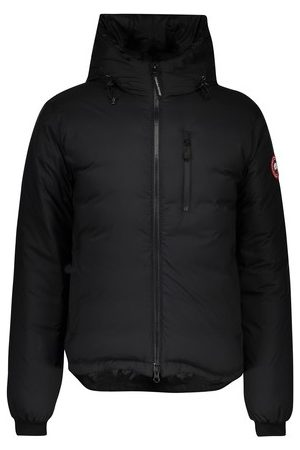 Canada Goose Men Puffer Jackets - Lodge hooded jacket