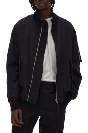Helmut Lang Men's Strapped Bomber Jacket