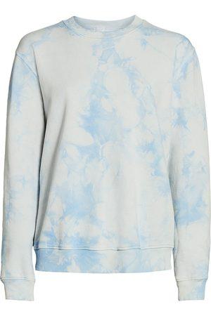 RAQUEL ALLEGRA Women's Classic Tie-Dye Sweatshirt - - Size 0 (XS)