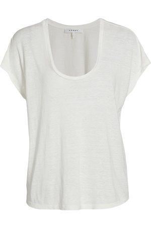 Frame Women's Easy Scoopneck T-Shirt - - Size XL