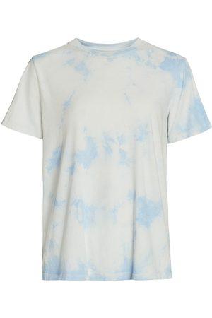 RAQUEL ALLEGRA Women's New Boyfriend Tie-Dye T-Shirt - - Size 2 (Medium)