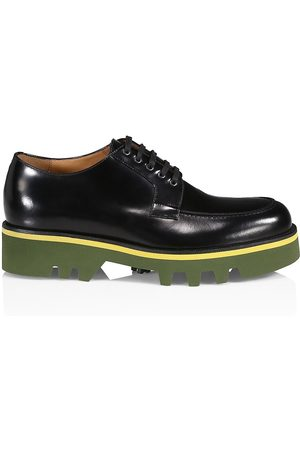 DRIES VAN NOTEN Men's Lug Sole Patent Leather Derbies - - Size 41 (8)