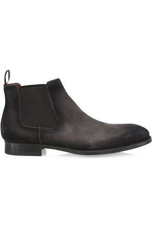 Saks Fifth Avenue Men's Suede Chelsea Boots - - Size 12