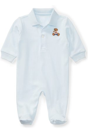 Ralph Lauren Baby Boy's Interlock Footie - - Size 6 Months