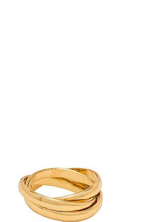 Shashi Leah Ring in Metallic .
