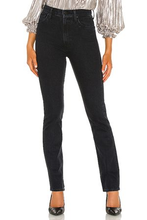 Mother High Waisted Rider Skimp in Black.