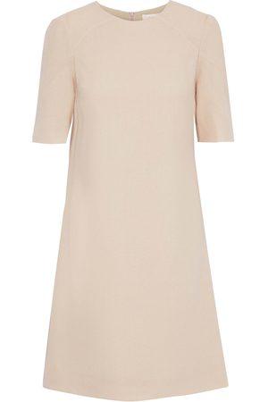 GOAT Woman Francine Wool-crepe Mini Dress Neutral Size 10