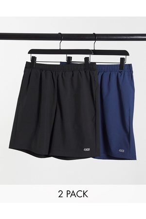ASOS 4505 icon training shorts with quick dry 2 pack SAVE